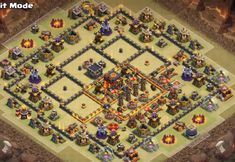 10 Best Town Hall Hybrid Base Links With Bomb Tower Anti Valkyrie, Anti Everything, Anti Miners, Anti Bowlers. Clash Of Clans App, Coc Clash Of Clans, Wallpaper Coc, Joker Hd Wallpaper, Clas Of Clan, Trophy Base, Town Hall, Amazing Photography, Game Coc
