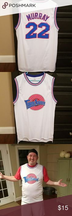 0add4755cdec9 Space Jam Tune Squad Bill Murray Basketball Jersey Space Jam Tune Squad  Bill Murray Basketball Jersey