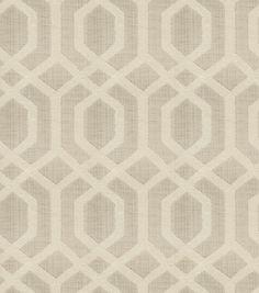 Home Decor Print Fabric- Eaton Square Hummer Parchment, , hi-res