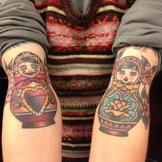@Ashley babushka doll tattoo