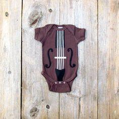 Baby Violin Onesie