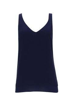 Navy V-Neck Camisole Top