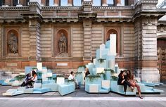 SO? architecture and ideas stack ceramic hill at the royal academy of arts