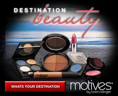 Motives is heating up summer and spring with Destination Beauty 2012. The colors are inspired by the tropical exotic colors of Mikonos blues, cocktail pinks and maui sunsets.