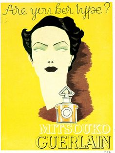 Mitsouko by Guerlain - Illustration by Lyse Darcy