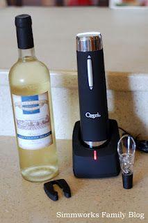 Simmworks Family Blog: Wine with Ease {Ozeri #NoiseGirls Review}