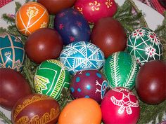 Easter Eggs from Around the World
