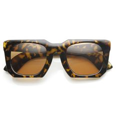 Modular Fashion Square Womens Designer Sunglasses 8984 | zeroUV