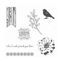 Choose Happiness Clear-Mount Stamp Set by Stampin' Up! $18.00