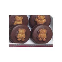 Cheery Chocolate Teddy Bear Cookies