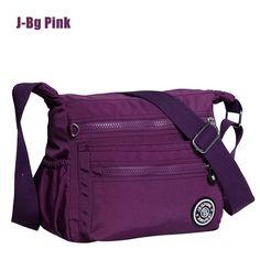 Women Nylon Handbag Brand Monkey Kipled J-Bg Pink Original Bag Sac A Main Femme De Marque Shoulder Crossbody Bag Waterproof Bag * Visit the image link more details.