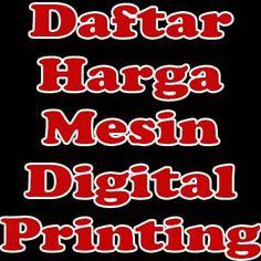 Lakunya.com - Harga mesin digital printing tergantung dari tipe dan jenisnya, lalu setiap merk juga memiliki harganya masing-masing. Brand asal China dan Jepang memiliki selisih yang terpaut cukup jauh, dari segi kualitas, ada beberapa brand asal China yang memiliki kemampuan