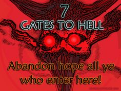 Real Pictures of Hell Most Haunted Places, Scary Places, Great Britan, Ghost Hauntings, Gates Of Hell, Places In America, Real Ghosts, Heaven And Hell, Red Art