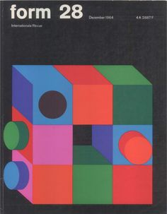 Love the colours and look of this  December 1964 Karl Oskar Blasé for Form.