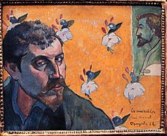 Gauguin Self-Portrait.