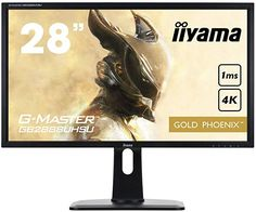 "Japanese monitor maker Iiyama has announced a new ""Golden Phoenix"" gaming monitor with support for AMD FreeSync. The is a Ultra HD x monitor and utilizes a TN LED-backlit panel. Phoenix, 4k Uhd, Usb, High Dpi, High Quality Speakers, Ultra Hd 4k, Gaming, Hd Led, Crisp Image"
