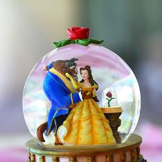 Beauty and the Beast Snow Globe
