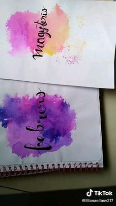 Bullet Journal Lettering Ideas, Bullet Journal Writing, Bullet Journal Ideas Pages, Bullet Journal Inspiration, Diy Crafts Hacks, Diy Crafts For Gifts, Paper Crafts, Hand Lettering Art, Hand Lettering Tutorial