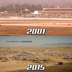 Velozes e Furiosos @velozes.e.furiosos - Race Wars em 2001/2015.  #RaceWa... • Yooying