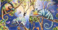 Типа творчество #kerbyrosanes #colouringbook #animorphia #hobby