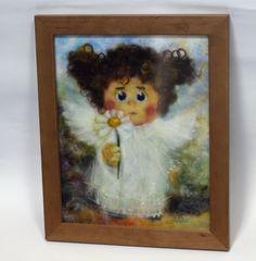 My little angel. (Based on the work of Halina Chuvilyaeva.)