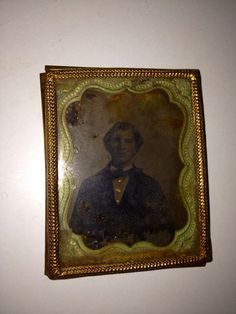 Antique Ambrotype Tintype Guilded Framed by AmberTaxidermy on Etsy, $15.00