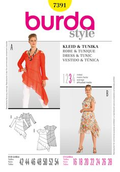 I really like this pattern.  Why can't US makers do this kind of stuff for plus size women?