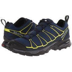Salomon X Ultra Prime (Fjord/Deep Blue/Gecko Green) Men's Shoes