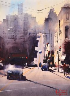 Alvaro Castagnet San Fransico Painting