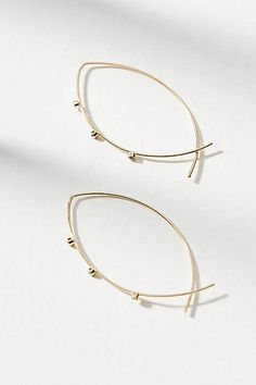 Anthropologie Loving Heart Hoop Earrings AKztj7Xd7