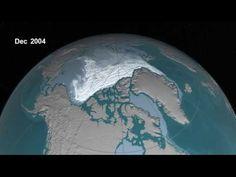 El fin de la humanidad está cerca, estas imágenes del Ártico en 1984 y ahora lo demuestran
