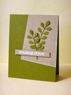 Created by Donna Mikasa using the Simon Says stamp Exclusive leaf column die. 2014