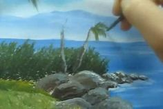 How To Paint a Tree - with Acrylic - Video Lessons of Drawing & Painting