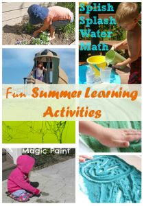 Ready for summer?  Here are some easy and fun summer learning activities will keep kids happy #kidsactivities #summer #learn