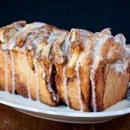 brown sugar & cinnamon pull-apart bread | the merry gourmet