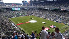 Whitecaps at Seattle 2011 . View from my seat with the Southsiders !