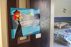 Entrance to the Classified Crafts area
