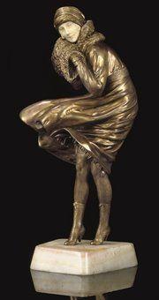Demetre Chiparus 1886-1947 | Art Déco sculptor