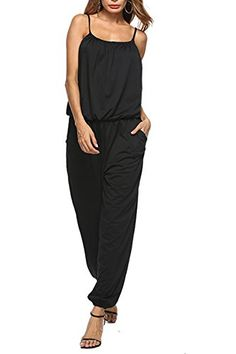 Womens Baggy Loose Playsuit Jumpsuit Dungarees Size Plus Overalls UK BEA