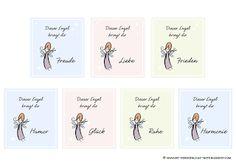 Nicht nur für Neujahr ... Die Persönliche Note - Kostenloser Download: Engelsorakel-Karten