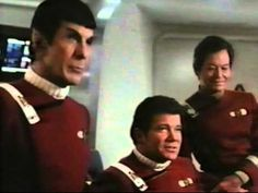 "Star Trek IV (The Voyage Home) blooper reel!  ""Well nobody's perfect"" - Bones.  ""Oh yeah?"" - Spock :P"