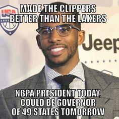 #chrispaul #cp3 #president #potus #governor #politics #la #losAngeles #cali #california #clippers #lobcity #nba #nbpa #basketball #association #sportsmemes #sports #meme #memes #nbamemes #teamfollowback #follow #f4f