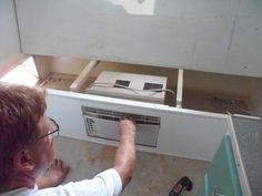 Hidden air conditioner in 1968 Serro Scotty Restoration by www.HeintzDesigns.com | Flickr - Photo Sharing!