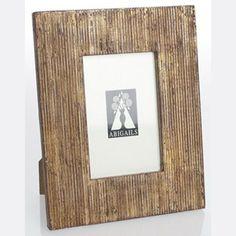 Abigails Wooden Ridged Frame in Mother of Pearl Finish  @Demi Bredefeld Ryan #demiryanhome #shop #homedesignboutique www.demiryan.com