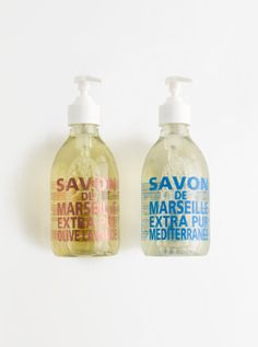 Madewell Compagnie de Provence® hand soap.