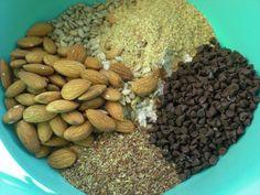 Banana Coconut Flax Seed Granola Bars Homemade | ... Cook: Dark Chocolate Chip Granola Bars with Peanut Butter and Banana