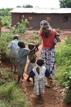 Katie Davis in Uganda. This is the girl who left everything to adopt kids in a foreign country. What an inspiration.