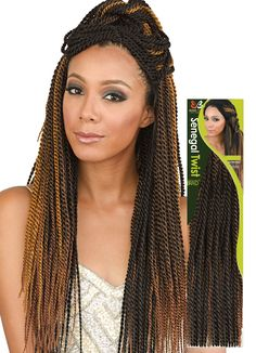 1 Piece Only Senegalese Braids Twist Bulk Crochet Hair Extension Synthetic Crochet Braids Hair Extension Senegalese Twist. If you like this type of ombre havana mambo twist hair extention, just feel free to contact with me through Whatsapp: Box Braids Hairstyles, My Hairstyle, Twist Hairstyles, Cool Hairstyles, Kinky Curly Hair, Curly Hair Styles, Natural Hair Styles, Synthetic Hair Extensions, Braid In Hair Extensions