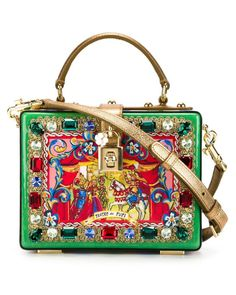 1479906cfa676 Dolce   Gabbana   Multicolor  dolce  Box Tote   Lyst Sacolas, Carteiras,