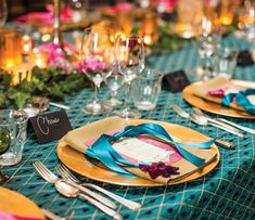 Vibrant & Sophisticated Tuscan 40th Birthday Soiree
